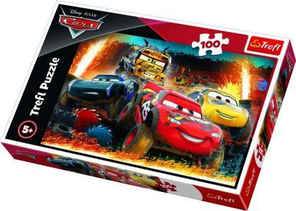 Trefl Puzzle 100 Pcs CARS EXTREME RACE 16358