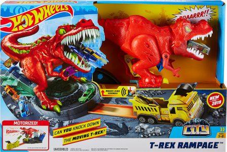 Mattel Hot Wheels T-Rex Δεινόσαυρος Με Ήχους (GFH88)