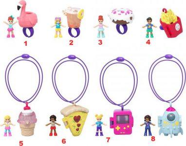 Mattel Polly Pocket – Tiny Takeaway Accessories Blind Bag (Random) (GNK16)
