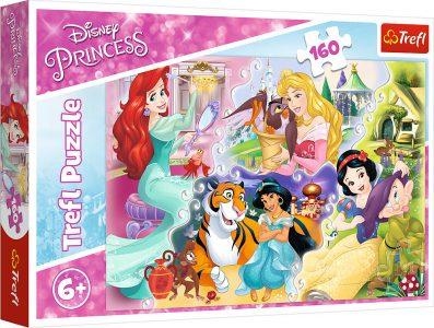 Trefl Puzzle 160 Pcs Princess And Friends 15364