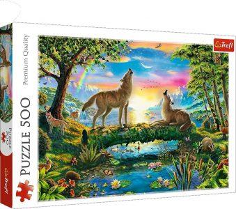 Trefl Puzzle 500 Pcs Lupine Nature Family 37349