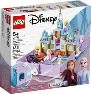 Lego Disney Princess Anna & Elsa's Storybook Adventures 43175