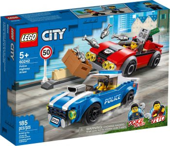Lego City Police Highway Arrest 60242