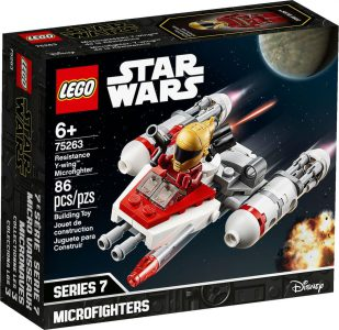 Lego Star-Wars Resistance Y-wing Microfighter 75263