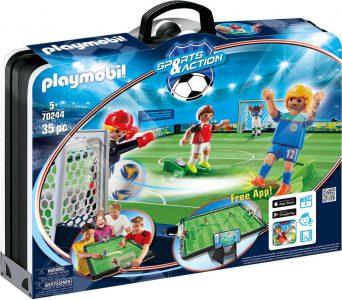 Playmobil Sports & Action – Βαλιτσάκι Γήπεδο Ποδοσφαίρου 70244