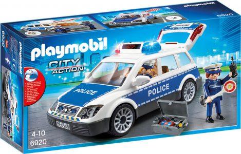 Playmobil City Action – Περιπολικό Όχημα με Φάρο και Σειρήνα 6920