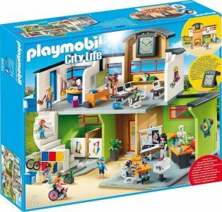 Playmobil City Life – Επιπλωμένο Σχολικό Κτίριο 9453