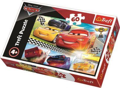 Trefl Puzzle 60 Pcs Cars Legentary Race 17334