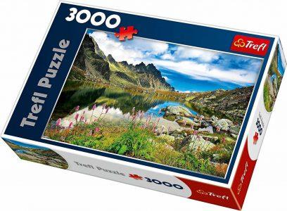 Trefl Puzzle 3000 Pcs Starolesnianski Pond, Tatras, Slovakia 33031