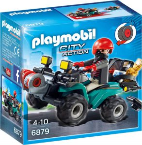 Playmobil City Action Ληστής με Γουρούνα και Κλοπιμαία (6879)