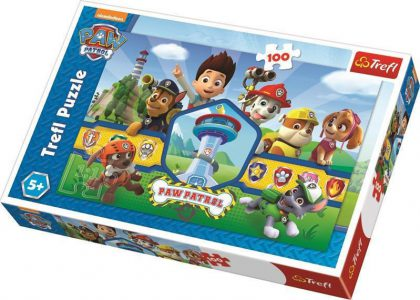 Trefl Puzzle 100 Pcs Paw Patrol Hero Team 16351