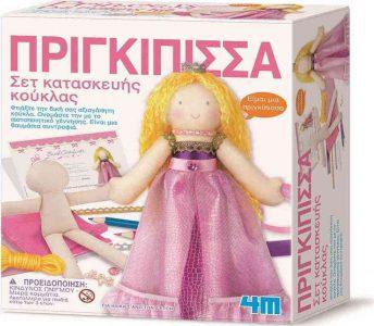 4M Κατασκευή κούκλα πριγκίπισσα 00-02746