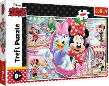 TREFL PUZZLE 260 Pcs MINNIE'S HAPPY DAY 13263