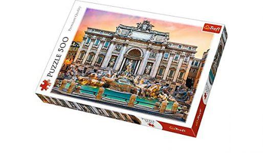 Trefl Puzzle 500 Pcs Fontanna Di Trevi 37292