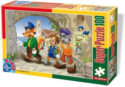 D-Toys Puzzles 100 Pcs Pinocchio 60402