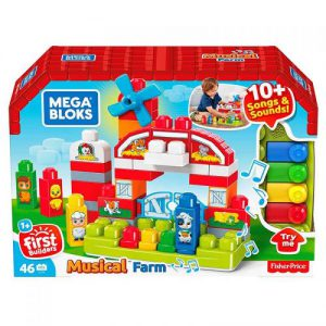 Fisher Price Mega Bloks Building Basics Farma GCT50