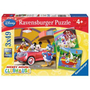 Ravensburger 3 X Puzzle 49 Pcs Mickey Mouse 092475