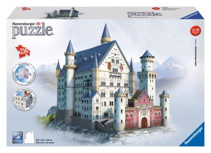 Ravensburger 3D Pcs 216 Piece Jigsaw Neuschwanstein Castle 125739