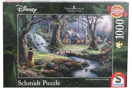 Schmidt Puzzle 1000 Pcs Kinkade Disney Χιονάτη 59485