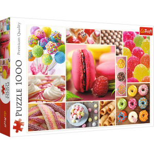 Trefl Puzzle 1000 Pcs Candy Collage 10469