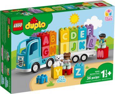 Lego Duplo – Φορτηγό Με Αλφάβητο 10915