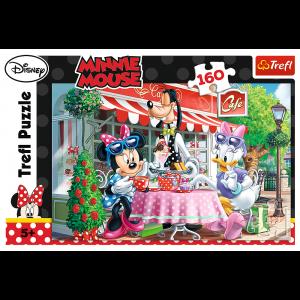 Trefl Puzzle 160 Pcs Minnie & Daisy in the Cafe 15298