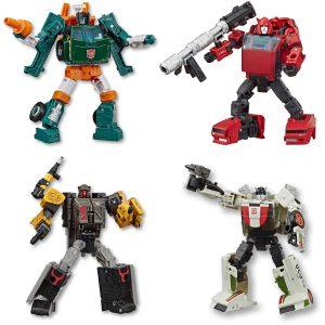 Hasbro Transformers Generations Earthwise War for Cyberton Deluxe 5.5 – 3 Σχέδια E7120