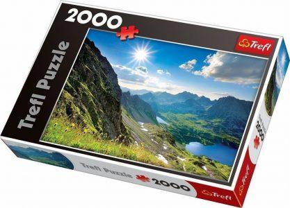 TREFL PUZZLE 2000 Pcs DOLINA PIECIU STAWOW, THE TATRAS 27047