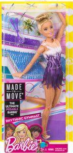 Mattel Barbie Αμέτρητες Κινήσεις-Αθλήτρια Ρυθμικής Γυμναστικής FJB18
