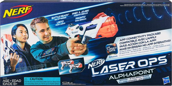 Hasbro Nerf Laser Ops Pro Alphapoint Two Pack E2281