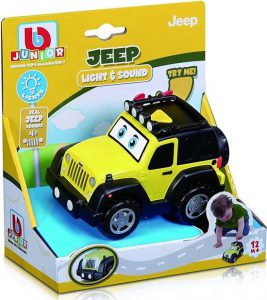 BURAGO JUNIOR ΑΥΤΟΚΙΝΗΤΟ JEEP LIGHT – SOUND JEEP WRANGLER 16-81201