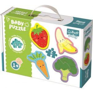 Trefl Baby Puzzle Fruit & Vegetables 8pcs 36076