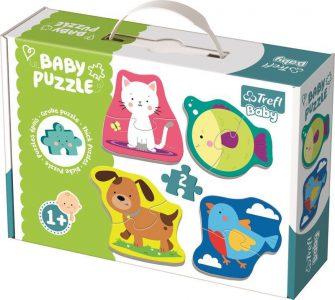 Trefl Baby Puzzle 8 Pcs Little Animals 36074