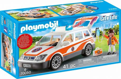 Playmobil City Life – Όχημα Πρώτων Βοηθειών 70050