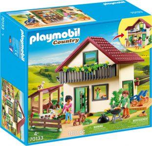 Playmobil Country – Αγροικία Με Ζωάκια 70133