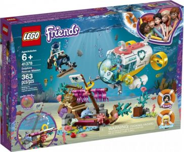 LEGO FRIENDS DOLPHINS RESCUE MISSION (41378)