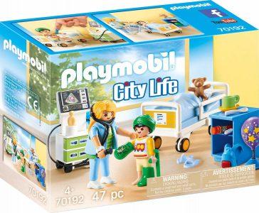 Playmobil City Life – Παιδικό Δωμάτιο Νοσηλείας 70192