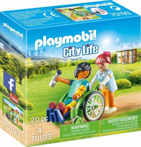 Playmobil City Life – Ασθενής Με Καροτσάκι 70193