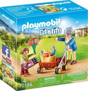 Playmobil City Life – Γιαγιά με Εγγονή 70194