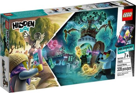 Lego Hidden Side Graveyard Mystery 70420