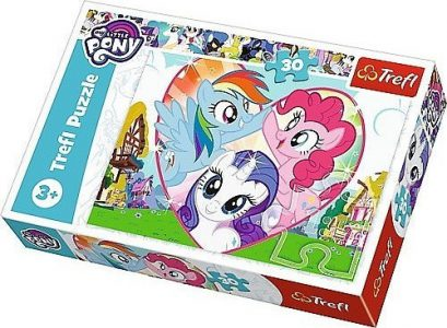 Trefl Puzzle 30 Pcs My Little Ponies Better Together 18241