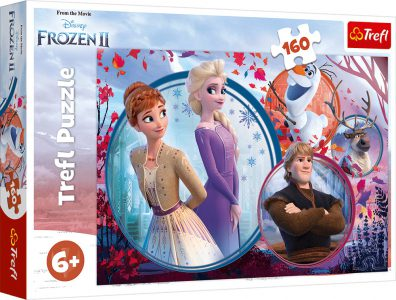 Trefl Puzzle 160 Pcs Sister Adventure 15374