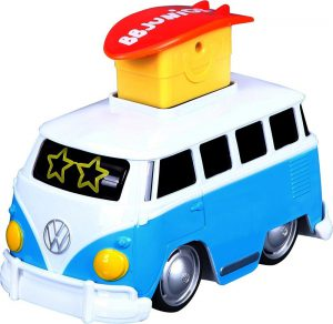 Burago Junior ΟΧΗΜΑ PRESS AND GO VW SAMBA BUS 2 ΜΠΛΕ 16-85110
