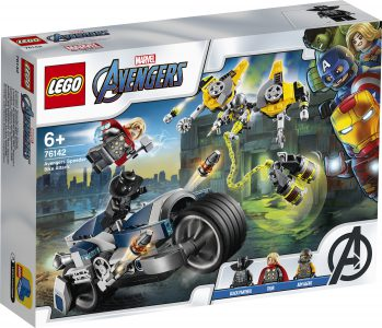 Lego Super Heroes Avengers Speeder Bike Attack 76142