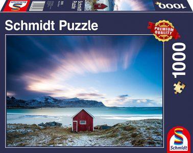 Schmidt Puzzle 1000 Pcs Καλύβα στις Ακτές του Ατλαντικού 58395