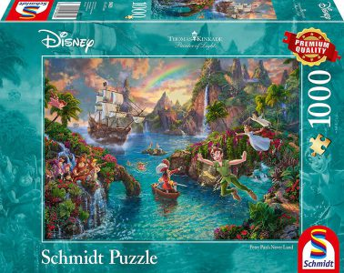 Schmidt Puzzle 1000 Pcs Disney, Peter Pan 59635