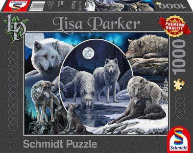 Schmidt Puzzle 1000 Pcs Lisa Parker Μεγαλοπρεπείς Λύκοι 59666