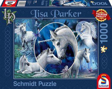 Schmidt Puzzle 1000 Pcs Lisa Parker Χαρισματικοί Μονόκεροι 59668