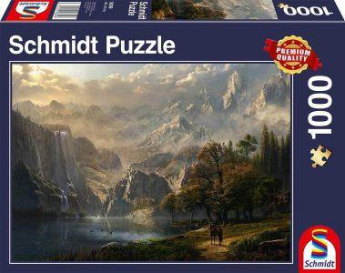 Schmidt Puzzle 1000 Pcs Ειδυλλιακοί Καταρράκτες 58399