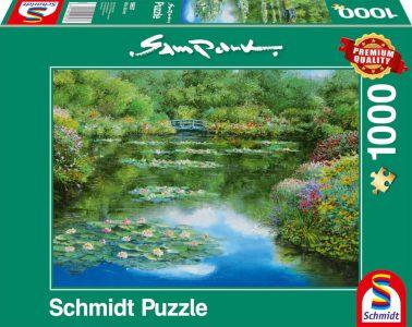 Schmidt Puzzle 1000 Pcs – Sam Park Water Lily Pond 59657